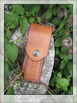 Leather case for your folding knife